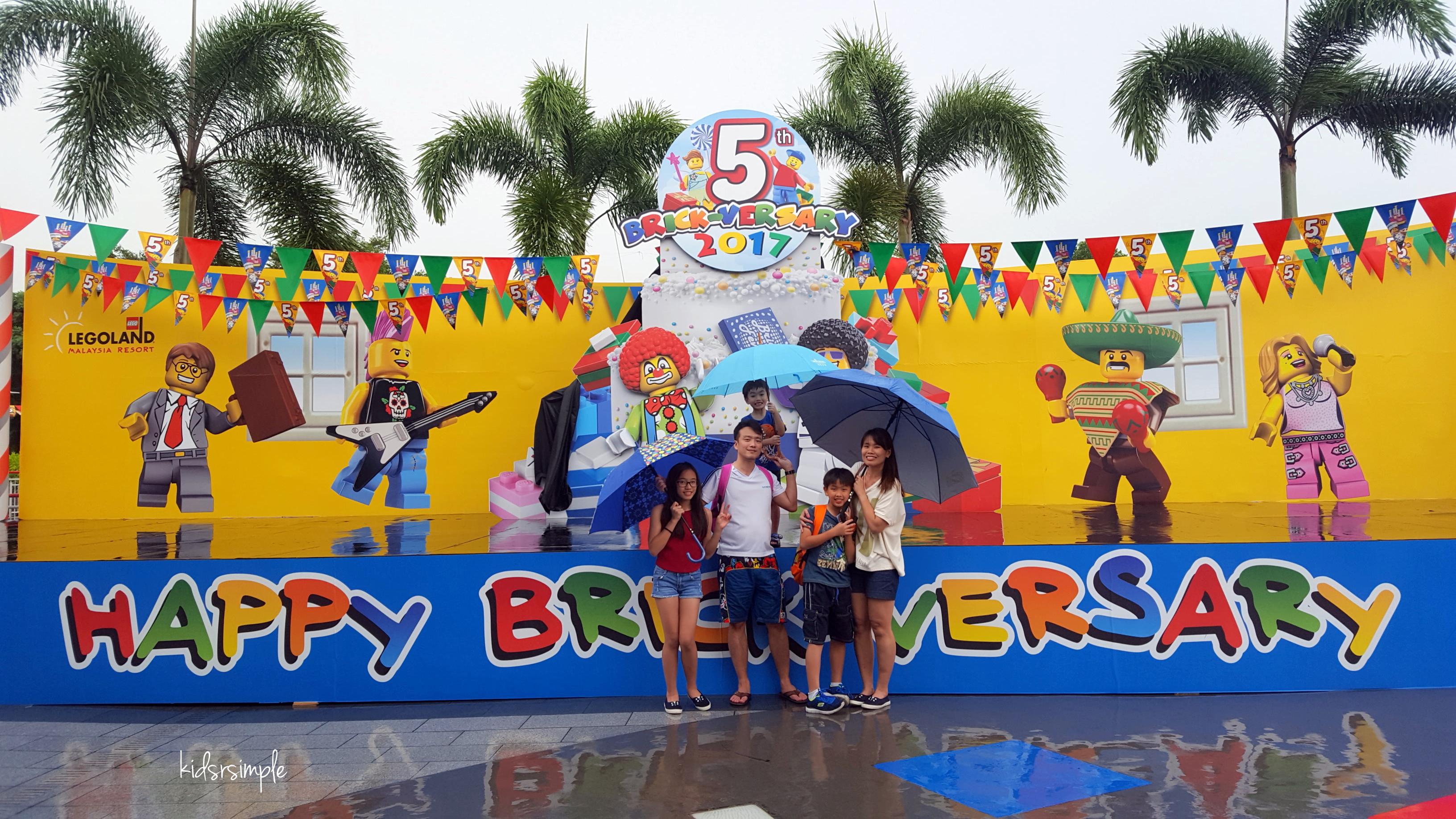 Legoland Malaysia - 5th Brick-Versary + Water Theme Park ...